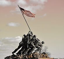 Iwo Jima Memorial, Wash DC by JackP