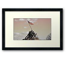 Iwo Jima Memorial, Wash DC Framed Print