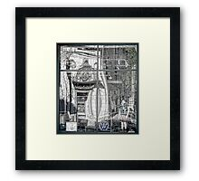 The Old Newberry's Looks Back in Time - Providence, Rhode Island Framed Print