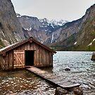 Open boathouse by Béla Török