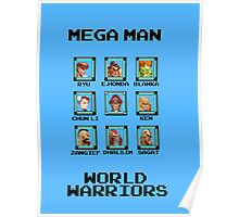 Mega Man - World Warriors Poster