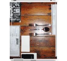 Organised Meal iPad Case/Skin
