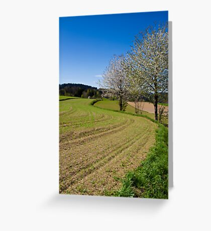 Young Crop Greeting Card