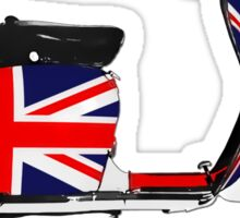 Scooter British Flag Sticker