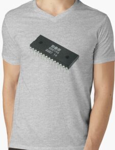 SID Chip Mens V-Neck T-Shirt