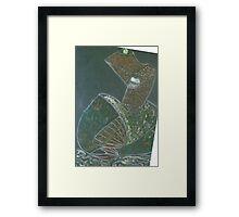 love woman Framed Print