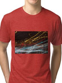 Lightpainting Single Wall Art Print Photograph 4 Tri-blend T-Shirt