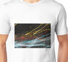 Lightpainting Single Wall Art Print Photograph 4 Unisex T-Shirt