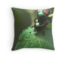 Iridescent Throes of Passion Throw Pillow