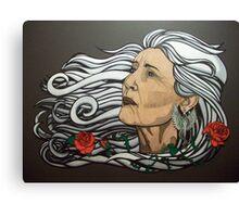 The Queen of Swords Canvas Print