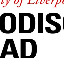 Goodison Road Liverpool Street Sign Sticker