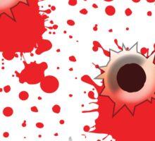 Bullet holes Sticker