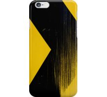 Yellow and Black Case iPhone Case/Skin