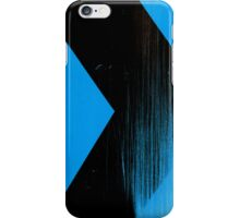 Blue and Black case iPhone Case/Skin
