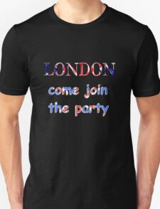 London Party time T-Shirt