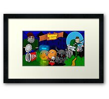 "Runner Bean ""Movie"" Framed Print"