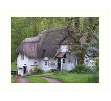 """""""Cottage in the woods"""" Art Print"""