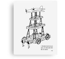 Wheels & motor Canvas Print