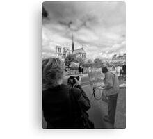 Reinvention and Interpretation - Notre Dame Paris Metal Print