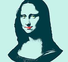 Pop Art Mona Lisa or La Gioconda by HumusArt