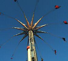 Swinging at Coney Island by Amanda Vontobel Photography