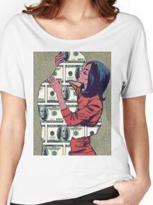 I Love Money  Women's Relaxed Fit T-Shirt