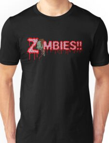 ZOMBIES!! (RED OUTLINE) T-Shirt