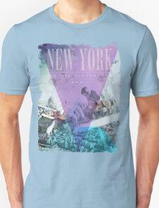 Sandcastles in New York - Digital Playground T-Shirt