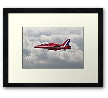 Red Arrows - H.S. Hawk Framed Print