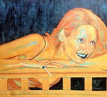 Portrait of Tess Daly by Intentism