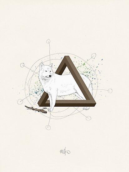 Wolf Triangle by Martin Kofod