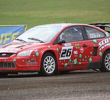 Andy Scott - Ford Focus WRC by Matt Dean