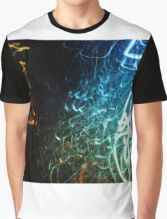 Lightpainting Single Wall Art Print Photograph 11 Graphic T-Shirt