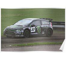 Liam Doran - Citroen C4 WRC Poster
