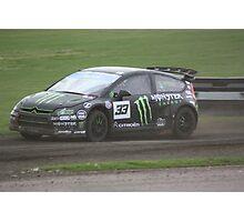Liam Doran - Citroen C4 WRC Photographic Print
