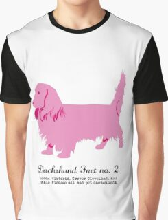 Dachshund Fact no. 2  Graphic T-Shirt