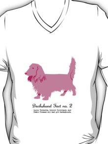 Dachshund Fact no. 2  T-Shirt