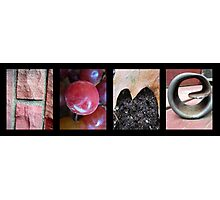 Home Alphabet Letter Photography Photographic Print