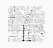 Las Vegas Map Gray Unisex T-Shirt