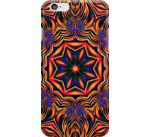 Psychedelic Kaleidoscope 1 Orange Mandala abstract iPhone & iPod Cases / Covers iPhone Case/Skin