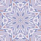 Kaleidoscope 2 Lavender Mandala abstract iPhone & iPod Case / Cover by Leah McNeir