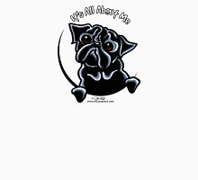 Black Pug :: It's All About Me Womens Fitted T-Shirt