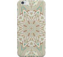 Kaleidoscope 2 Tan / Beige Mandala abstract iPhone & iPod Case / Cover iPhone Case/Skin