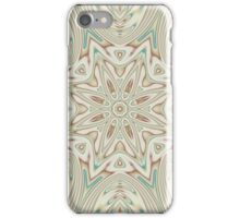 Kaleidoscope 2 Tan / Beige Mandala abstract iPhone & iPod Case / Cover iPhone Case/Skin