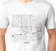 Phoenix Map Gray Unisex T-Shirt