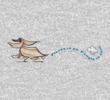 Afghan Hound :: Places to Go People to Sniff One Piece - Long Sleeve