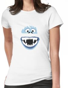 Simple Bumble Face Womens Fitted T-Shirt