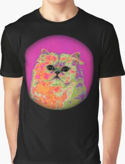 Psychedelic Cat II Graphic T-Shirt