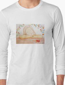 Listening girl Long Sleeve T-Shirt