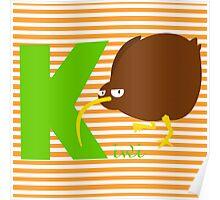 k for kiwi Poster